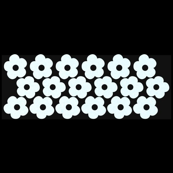 LiteMark Reflective 5 Petal Flowers