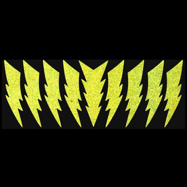 LiteMark Reflective Lightning Bolts