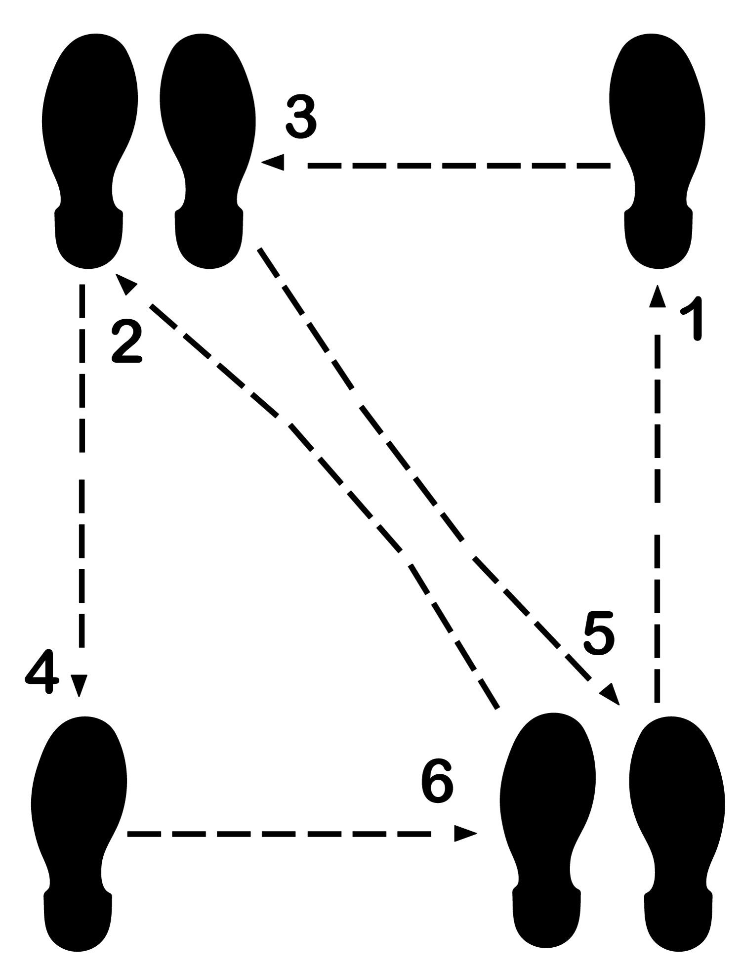 Dance Diagram Supplemental Waltz M on Waltz Dance Steps Diagram