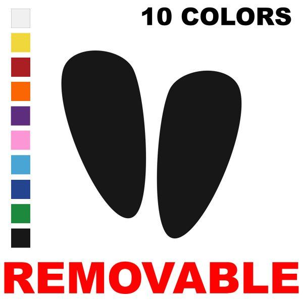 Removable Alien Footprint