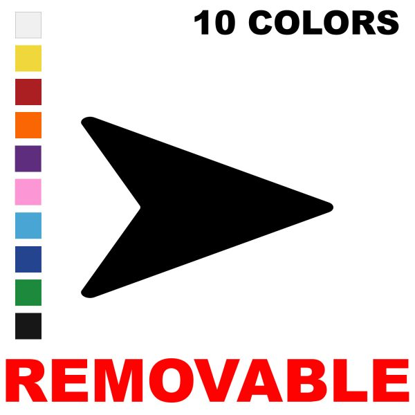 LiteMark Removable Flying V Arrows