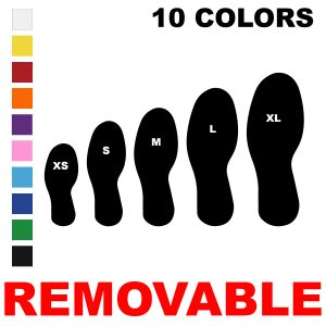 LiteMark Removable Adhesive Footprints