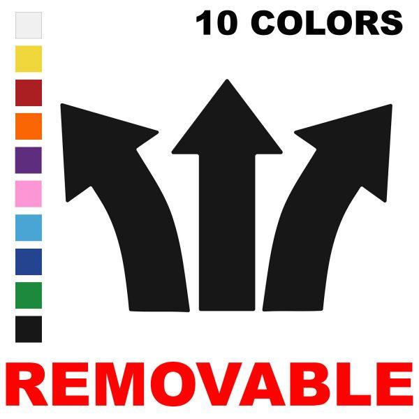 LiteMark Removable Wide Stem Arrows