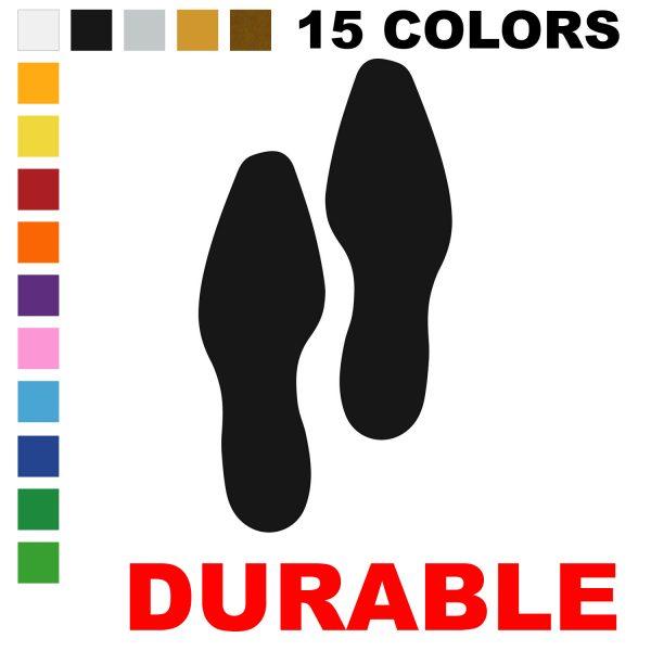 Dress Shoe Footprint