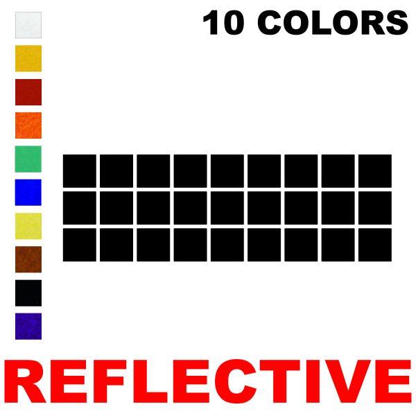 LiteMark Reflective Squares
