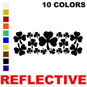 LiteMark Reflective Assorted Shamrocks