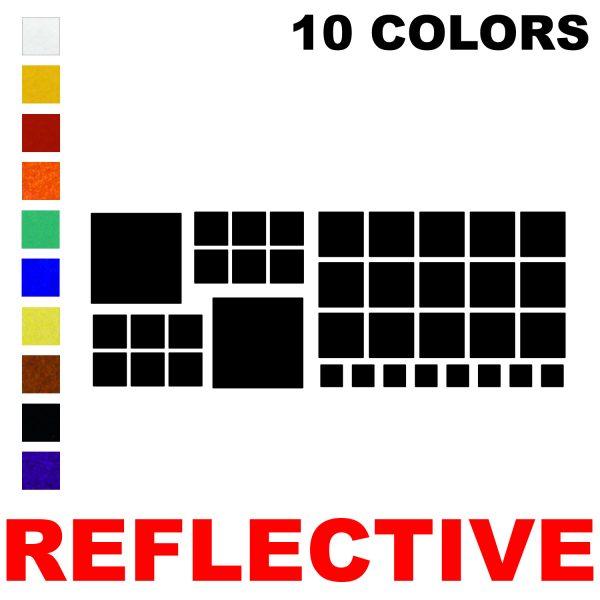 LiteMark Reflective Assorted Squares