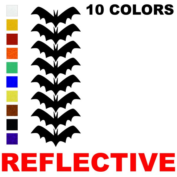 LiteMark Reflective 4 Inch Bats