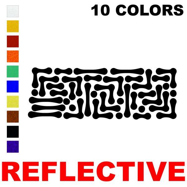 LiteMark Reflective Bones Pack
