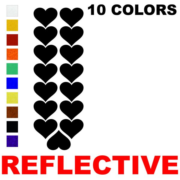 LiteMark Reflective Hearts