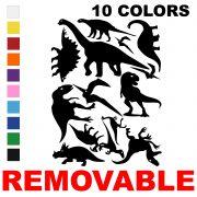 LiteMark Removable Assorted Dinosaur Decals