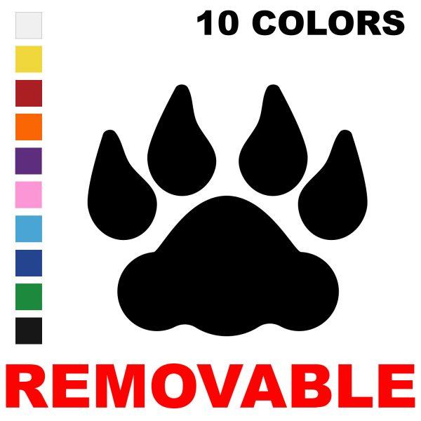 LiteMark Removable Lion Tracks
