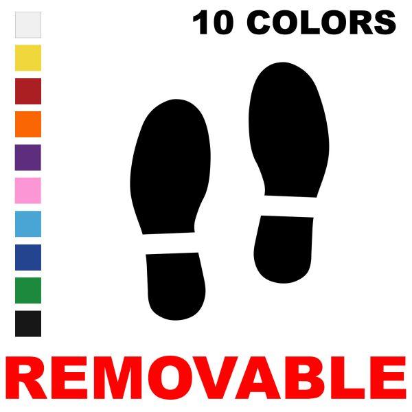LiteMark Removable Spy Foot Prints