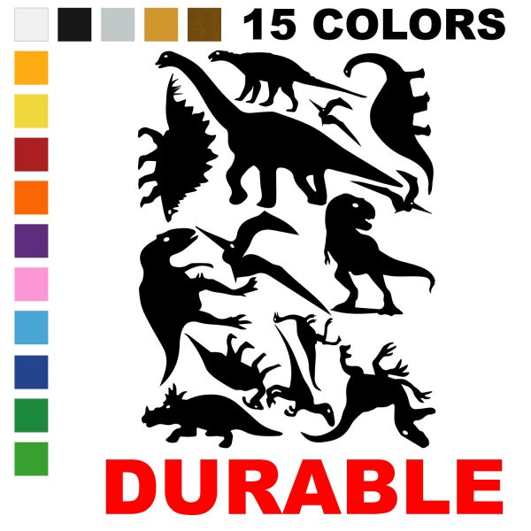 LiteMark Assorted Dinosaur Decals