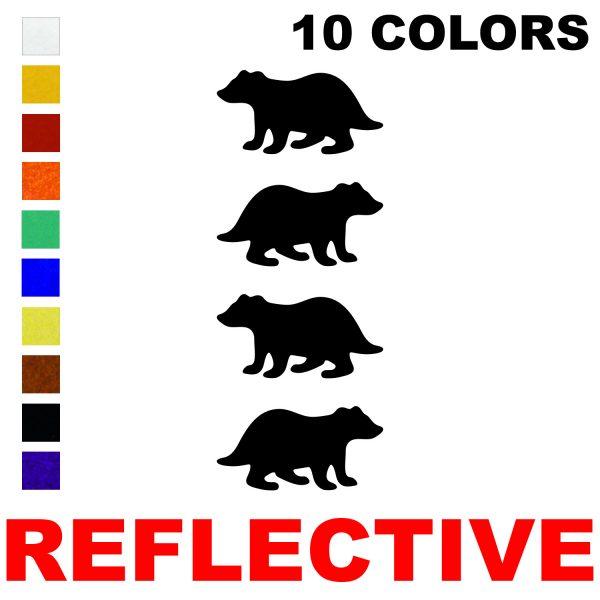 LiteMark Reflective 2 Inch Badger - Pack of 4