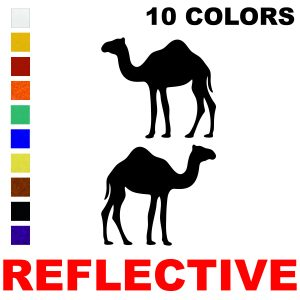 LiteMark Reflective 3 Inch Camel - Pack of 2