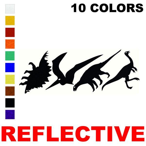 LiteMark Reflective Dino Pack 1