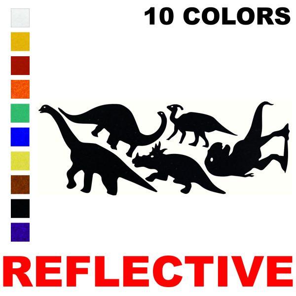LiteMark Reflective Dino Pack 2