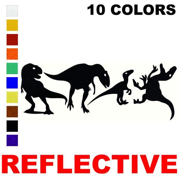 LiteMark Reflective Dino Pack 3